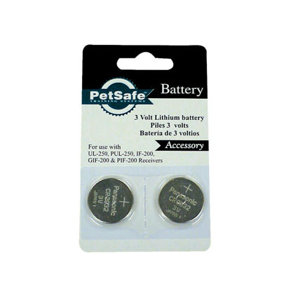 Picture of Petsafe 3V Dog Collar Replacement Lithium Battery (2-Pack)