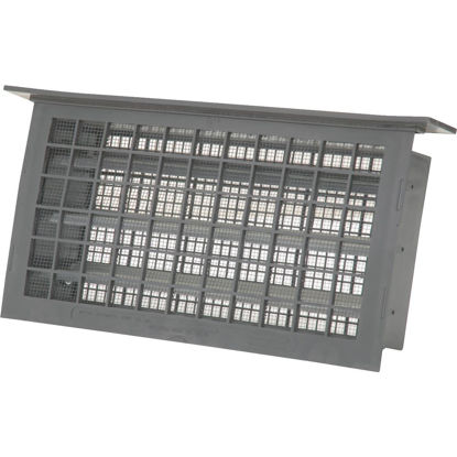 Picture of Witten 8 In. x 16 In. Gray Automatic Foundation Ventilator with Lentil