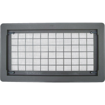 Picture of Witten 8 In. x 16 In. Gray Automatic Foundation Ventilator